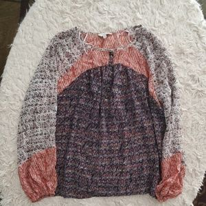 Lucky Brand Peasant Top M